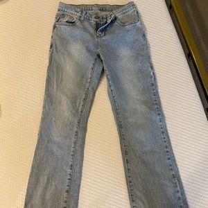 Brandy Melville Wide Leg blue wash Jeans